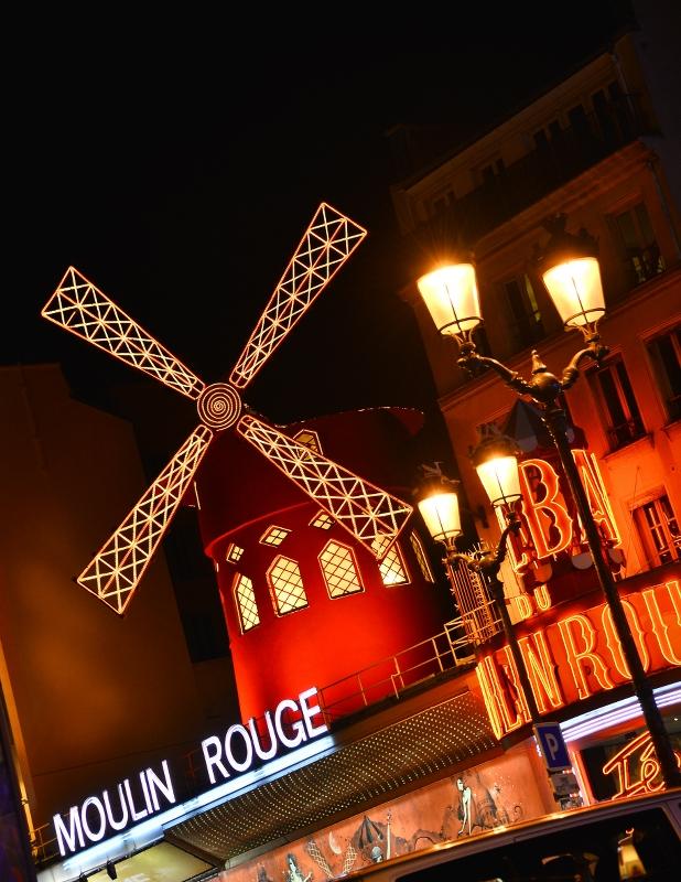Moulin Rouge Façade . ©Moulin Rouge® - S.Bertrand