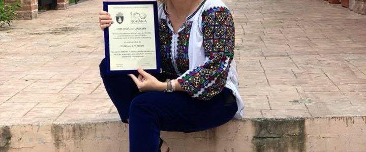 """CRISTINA CHIRIAC: """"EXISTĂ O UNDĂ SPECIALĂ CARE FACE CA IA SĂ REZONEZE ÎN SUFLETUL MEU PRECUM O ROMANȚĂ PARFUMATĂ CU DRAGOSTE"""""""